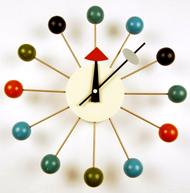 modern colorful wall clock