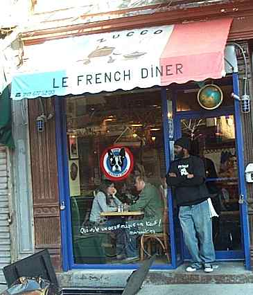 small french restaurant