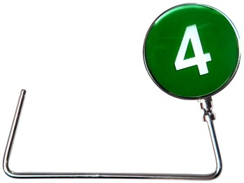 Number 4 line purse hook
