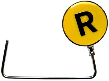 The R line purse hook